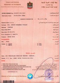 Visa Employment UAE