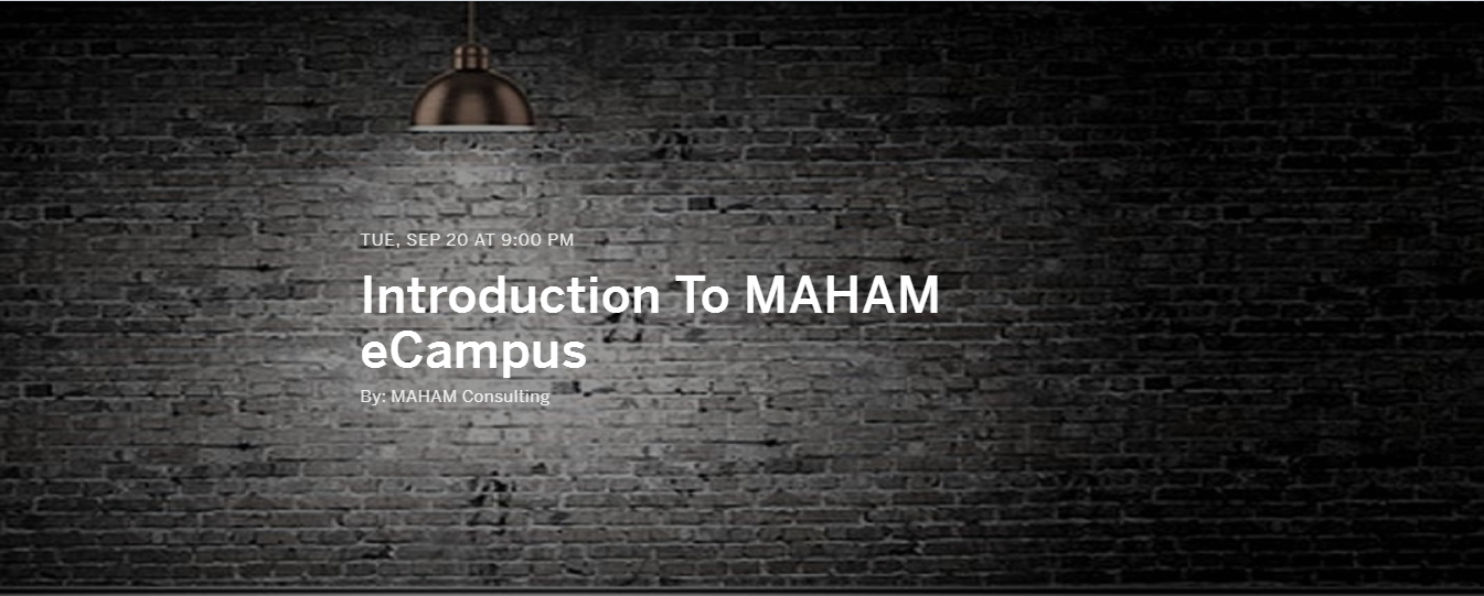 Introduction to MAHAM eCampus – Countdown